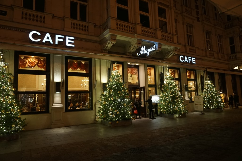 Cafe Sacher next to Hotel Sacher