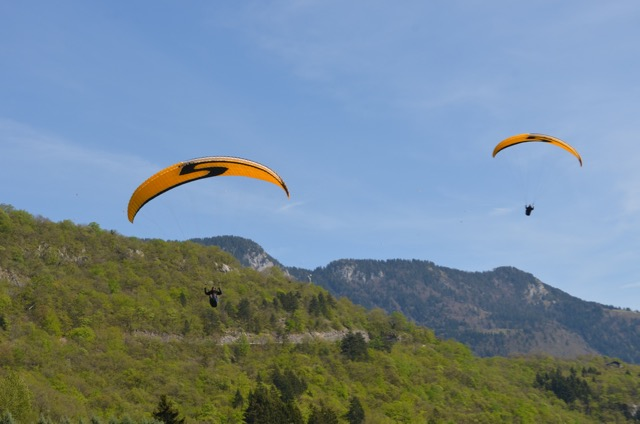 Annecy paragliding