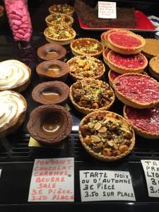 french tarts and lyonaise praline